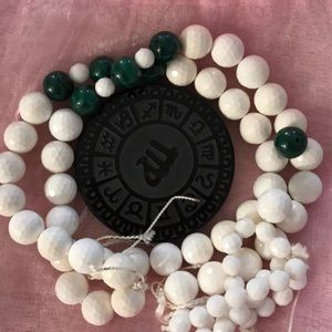 Necklace: Black Onyx Astology & Wh Onyx/Malachite